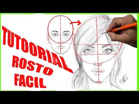 Desenhar rosto fácil