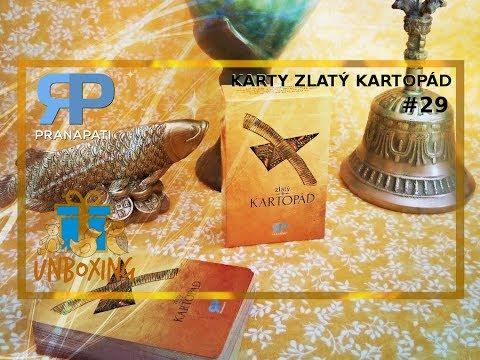 Unboxing #29 - věštecké karty Zlatý kartopád