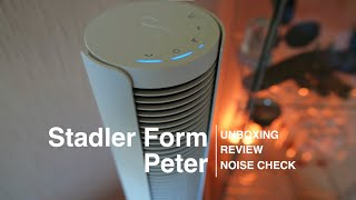 Stadler Form Peter - Turmventilator Review und Lautstärke test - Dyson Cool AM07 alternative?