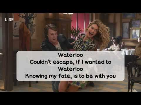 Mamma Mia! Here We Go Again - Waterloo (Lyrics Video)
