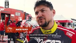 Orlenteam - Mokre wydmy na 11 etapie rajdu Dakar.