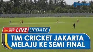 Sukses Kalahkan 2 Tim Sekaligus di Cricket PON XX Papua, DKI Jakarta Melaju ke Semifinal