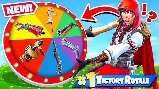 SPIN the WHEEL of WEAPONS! *NEW* Game Mode in Fortnite!
