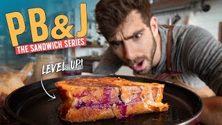 The Peanut Butter & Jelly Sandwich for Grown Ups...
