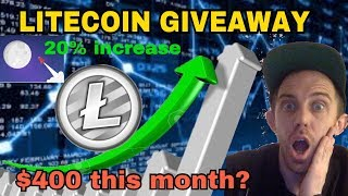 LITECOIN REACHING THE MOON RIGHT NOW WITH 20% INCREASE! $400 PRICE PREDICTION