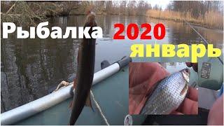 На что ловится рыба в январе
