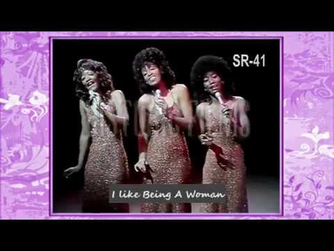 Three Degrees-I Like Being A Woman (ed hurst show, 1974)