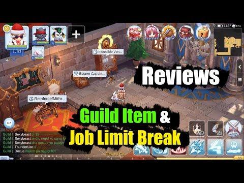 Ragnarok M Eternal Love Guild Item & Job Limit Break Reviews - IceXgame