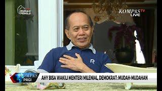 AHY Bisa Wakili Menteri Milenial, Demokrat: Mudah-Mudahan