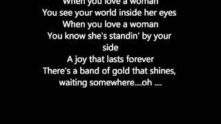 Journey- When You Love A Woman Lyrics