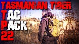 Tasmanian Tiger TT Tac Pack 22 Rucksack - Review Test (deutsch Outdoor Survival Trekking Backpacking