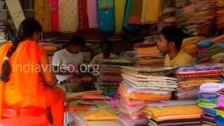 Shopping Street in Agartala, Tripura
