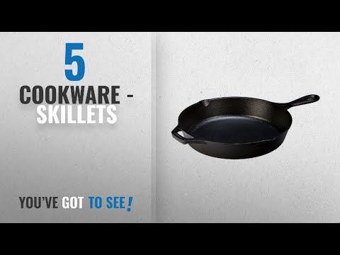 Top 10 Cookware - Skillets [2018]: Lodge L8SK3 10-1/4-Inch Pre-Seasoned Skillet