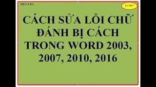 BG28: Hướng Dẫn Cách Sửa Lỗi Nhảy Chữ Trong Văn Bản Word Dành Cho Văn Phòng, Kế Toán