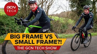 Getting The Right Bike Fit - Should You Size Up Or Down?   GCN Tech Show Ep.171