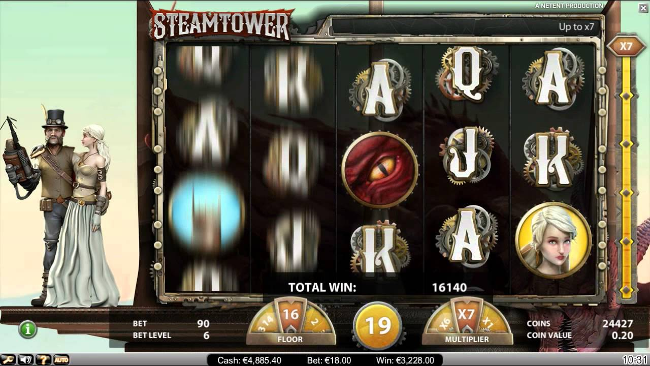 Betspin - Steam Tower