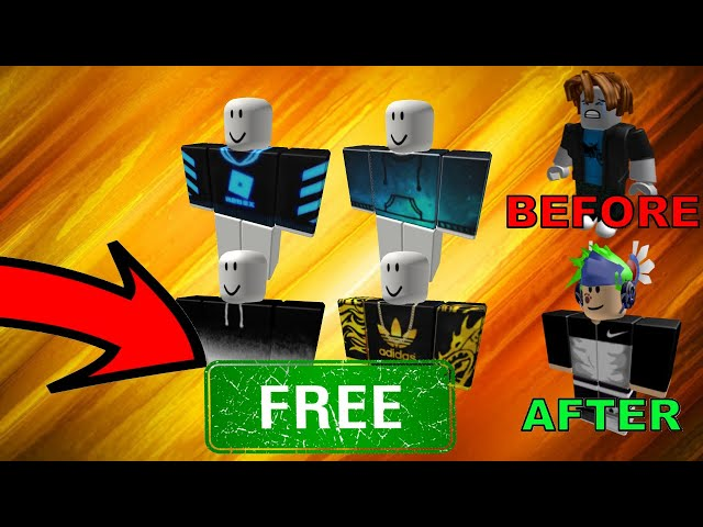 How To Get Free Shirts And Pants On Roblox