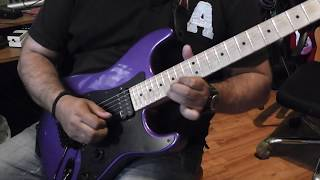 Charvel USA Candy Plum Demo By Panos A. Arvanitis (backing Track Included)