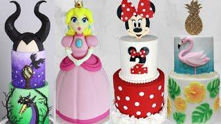 Most Satisfying Cake Decorating Ideas! | Amazing Cakes 2020 | Disney Cakes & More!