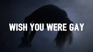 Billie Eilish   Wish You Were Gay (Lyrics)