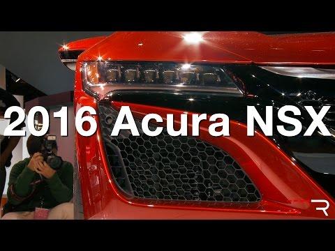 2016 Acura NSX – Redline: First Look – 2015 Detroit Auto Show