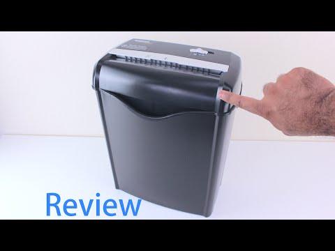 AmazonBasics 6-Sheet Cross-Cut Paper and Credit Card Shredder Review