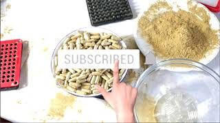 How to fill your capsules (cheapest capsule filling machine)