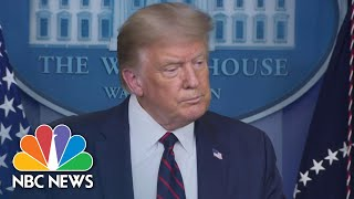 President Donald Trump: Generals Think Beirut Explosion 'Was A Bomb Of Some Kind' | NBC News NOW