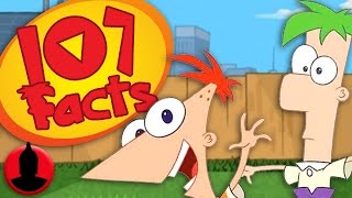 107 Phineas and Ferb Facts YOU Should Know! (ToonedUp #39) @ChannelFred