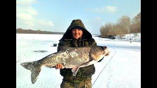Зимние рыбалка на что ловят