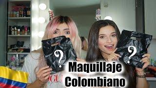 Probando Maquillaje Colombiano Con Dani Duke