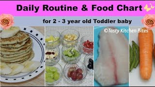 What a 3 year old eats vegan meals quick easy where to get daily routine food chart for 2 3 year old toddler baby l complete diet forumfinder Images
