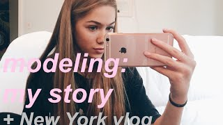 modeling and me: getting scouted, meeting an agency, getting a contract (+ NYC VLOG)