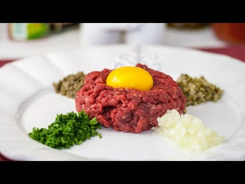 Best Beef Steak Tartare Recipe – How to Make Steak Tartare