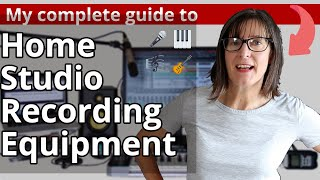 Home Studio Recording Equipment: Home Music Studio Essentials