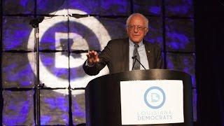 Bernie Sanders in Louisiana