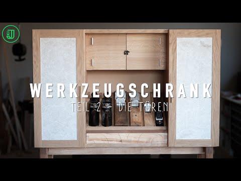 Werkzeugschrank selber bauen: Die Türen   Jonas Winkler