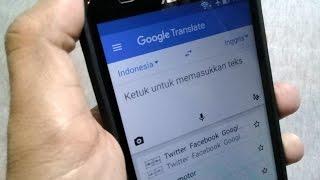 Inilah 5 Fitur Keren Aplikasi Terjemah Google ( Google Translate )