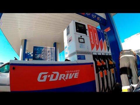 Es ist das Benzin auf einen Rubel teuer geworden