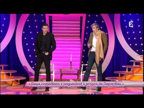 Deux comédiens s'engueulent à propos de Depardieu