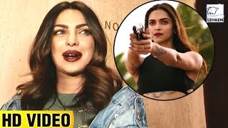 Priyanka Chopras REACTION On Deepika Padukones XXX Return Of Xander Cage  LehrenTV