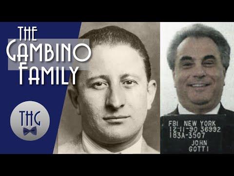The Gambino Family, Carlo Gambino, and John Gotti