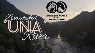 """Pure TECHNO MUSIC + FPV Drone Footage of River """"UNA"""""""