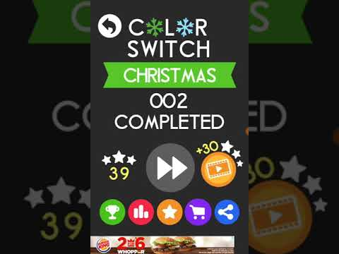 Blobtastic Blob: Color Switch Christmas!