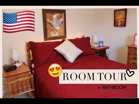 Ich zeige mein amerikanisches Zimmer! Room Tour | RYE USA 16/17 #27