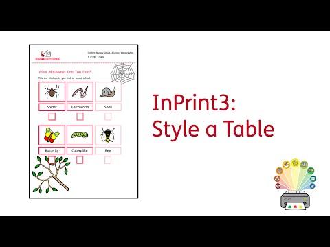 Formatere en tabell