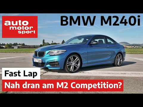 BMW M240i: Fast so gut wie der M2 Competitiion? - Fast Lap | auto motor und sport