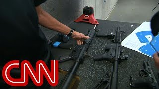 An up-close look at the AR-15