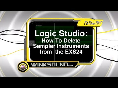 Logic Pro: How To Delete Sampler Instruments from the EXS | WinkSound