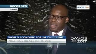 CNBC Speaks to Wale Tinubu on Investing in Nigeria's oil industry at the 2017 World Economic Forum